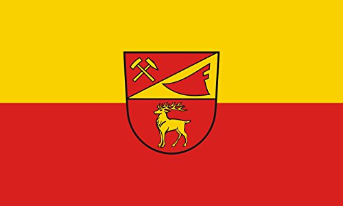Unbekannt magFlags Tisch-Fahne/Tisch-Flagge: Sigmaringendorf 15x25cm inkl. Tisch-Ständer