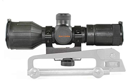 360 Tactical 3-9X40 1' Rubber Coated Heavy Duty Scope RED...