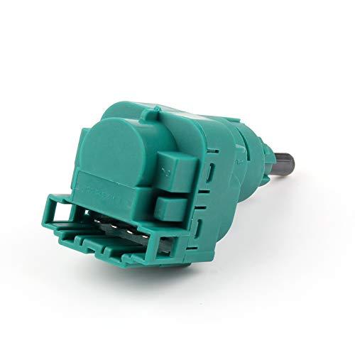 Bruce & Shark 1C0945511A - Interruptor de luz de Freno para Au-di V-W Volk-SWA-Gen Golf Green (4 Pines)