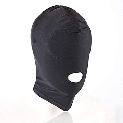 SexReaper Unisex Headgear Full Face Blindfold Mask Transpirable, Disfraz Hood Mask fit cosplay