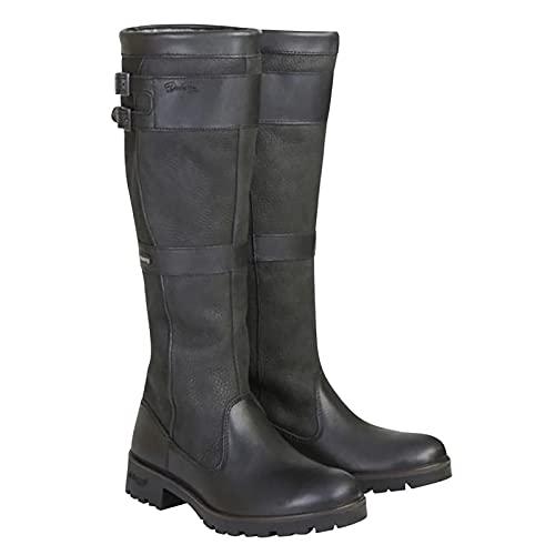Women's Boots Winter Vintage Buckle Strap Western Boots Slip On Retro Cowboy Footwear Shoes
