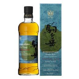 シングルモルト駒ヶ岳 屋久島エージング Bottled in 2021