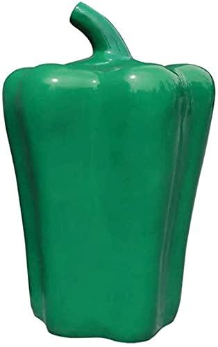DZCGTP Papelera de Reciclaje de residuos/Papelera Diversión Bote de Basura al Aire Libre Cesta Comercial Bonito Colorido Parque de Pimienta Bote de Basura Patio Basura Decorativa C
