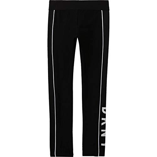 DKNY Mädchen Leggings D34A11 schwarz (10 Jahre (140))