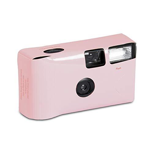 """Einwegkamera \""""Kreativ Colours\"""" rosa 24 Bilder Hochzeit Einwegkameras Hochzeitskameras"""