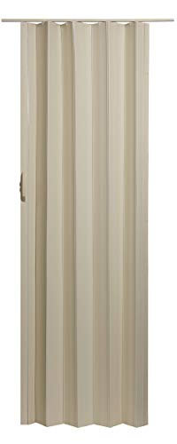 """LTL Home Products SI3680CW Sienna Interior Accordion Folding Door, 36"""" x 80"""", Cottage White"""