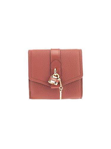 Luxury Fashion | Chloé Dames CHC20SP315B7127S Bruin Leer Portemonnees | Lente-zomer 20