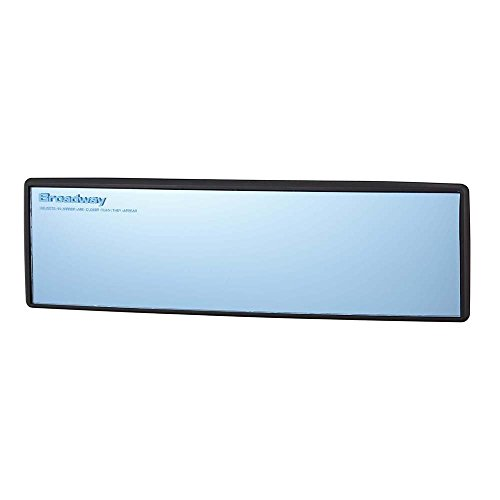 『ナポレックス 車用 ルームミラー Broadway ワイドミラー ブルー鏡 幅240㎜ 曲面鏡 高性能光学式防眩ミラー UVカット 汎用 BW-153』の5枚目の画像
