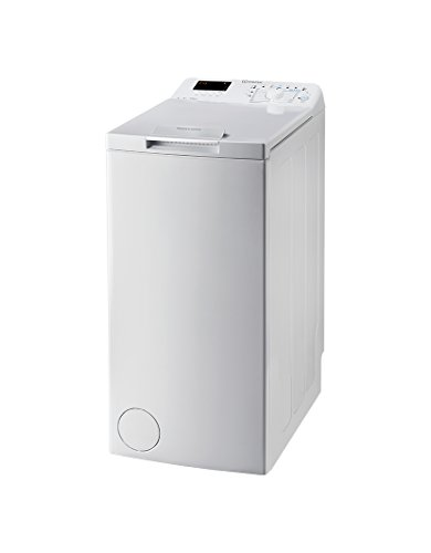 Indesit BTW D61253 (EU) Independiente Carga superior 6kg 1200RPM A+++ Blanco – Lavadora (Independiente, Carga superior…