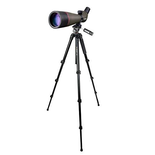 Svbony SV13 Spektiv mit Stativ 36-146cm, HD Spektiv Vogelbeobachtung Porro Prisma FMC Optik Wasserdicht Monokular für Sportschützen, Jagen, Wildlife Scenery
