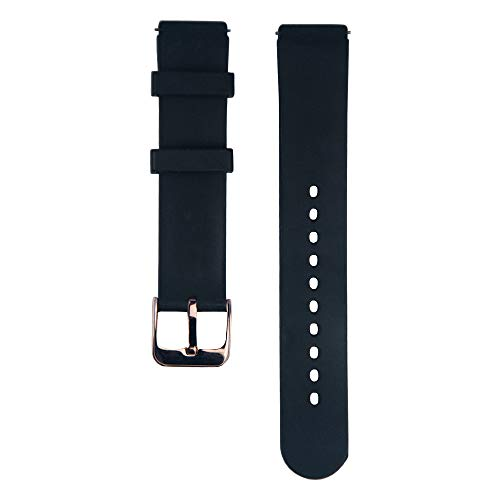 Bozlun Smart Watch Replacement Band Compatible with Bozlun smartwatch B36 and B16 (Black)