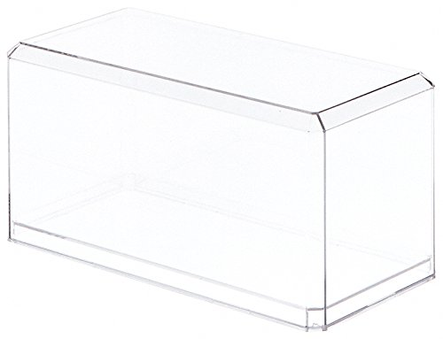 """Pioneer Plastics Clear Acrylic Display Case for 1:24 Scale Cars, 9"""" x 4.375"""" x 4.125"""""""