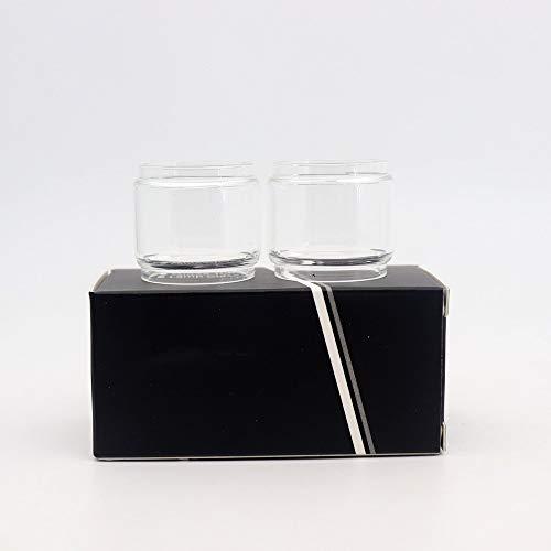 Denghui-ec, El Tanque de Vidrio Gordo de 2 Piezas para GEEKVAPE Ammit 25 RTA/UNIMAX 25 / IJOY Captain X3 - Transparente,Sin Tabaco ni nicotina (Bundle : 2pcs Ammit 25, Color : Clear)