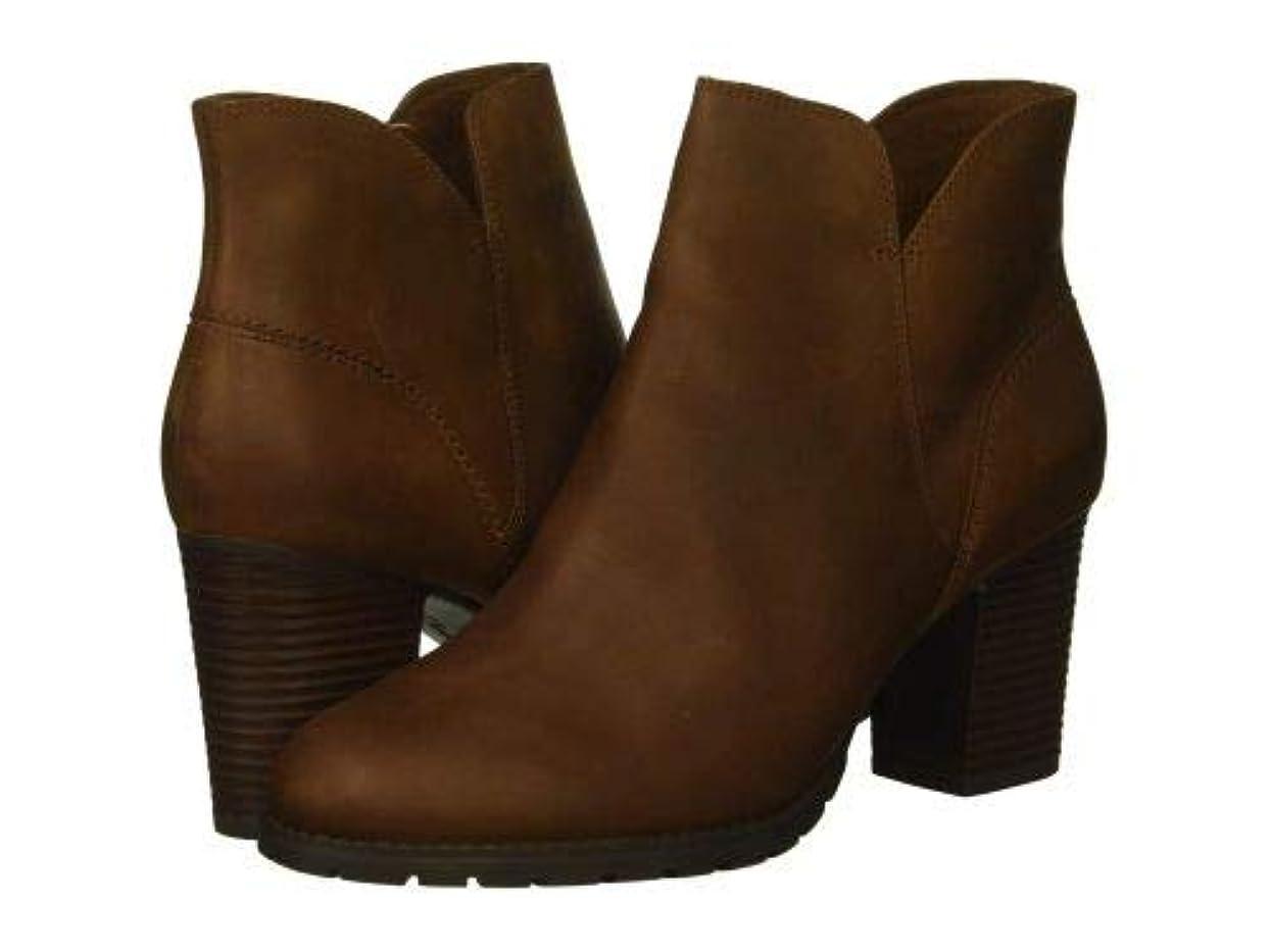 にはまってシガレット数学的なClarks(クラークス) レディース 女性用 シューズ 靴 ブーツ アンクルブーツ ショート Verona Trish - Dark Tan Leather [並行輸入品]