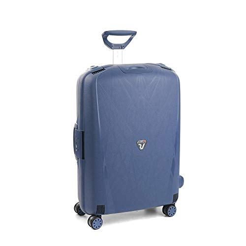 Roncato Light Trolley Grande - 4 Ruote, 75 Cm, 109 Litri, Navy