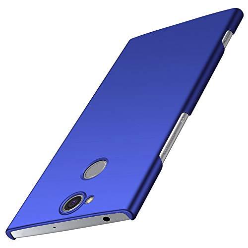 XINKO Sony Xperia XA2 Plus Funda, Cubierta Slim Armor Carcasas, PC Gel Ultra Fina Protección a Bordes [Diseño Durable], para Sony Xperia XA2 Plus (Slim Fit Series - Azul)