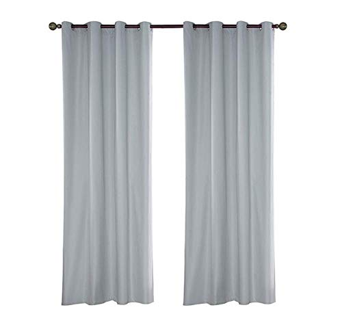Cortinas opacas a prueba de sol impermeable cortina para niños dormitorio patio jardín sala de estar