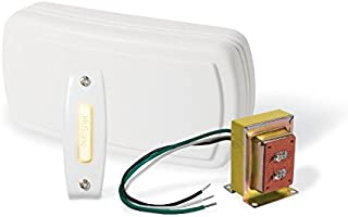 Broan-NuTone - Kit de Campanas con pulsador Iluminado, 1, Color Blanco