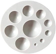 JINN-Cake Molds - 3D Half Ball Circle Sugarcraft Silicone Mold Fondant Cake Decorating Tools Kitchen Baking Accessories Pa...
