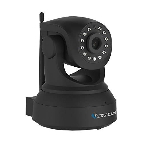 VSTAR CAM C72R - Cámara IP inalámbrica (HD, 720P, panel de audio y ranura para tarjetas)