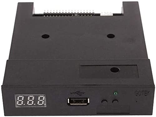 Gotek SFR1M44-U100 3,5 Zoll 1,44 MB USB-SSD-Diskettenlaufwerk-Emulator Schwarz