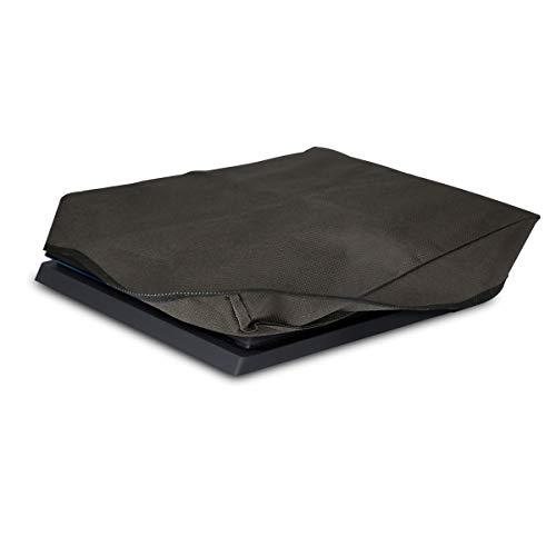 kwmobile Hülle kompatibel mit Playstation 4 (CUH-1100/-1200) - Spielekonsole Schutzhülle - Konsole Cover Case - Dunkelgrau