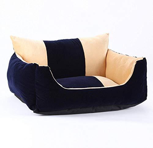 Kennelsoft Velvet Hondenmatras Comfortabel kattennest Puppy Nest House Hondenbank 62X50X27Cm