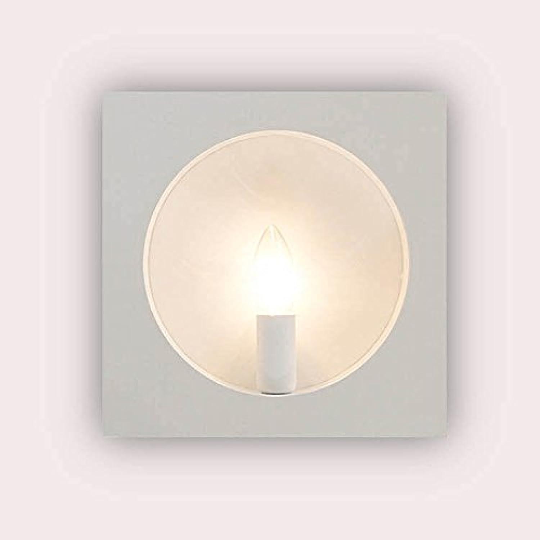 StiefelU LED Wandleuchte nach oben und unten Wandleuchten Vierkanteisen faux Kerze Wand led Wandleuchte, B 3000 K