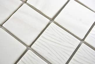 MOS18-0406/_f Carrelage de piscine en c/éramique Bleu mat