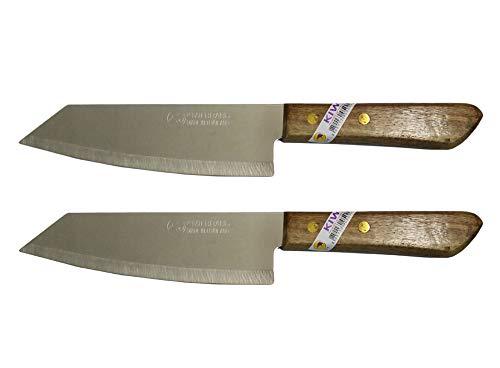 2 Stück KIWI Marke Deba Style Flexible Edelstahl Messer #171