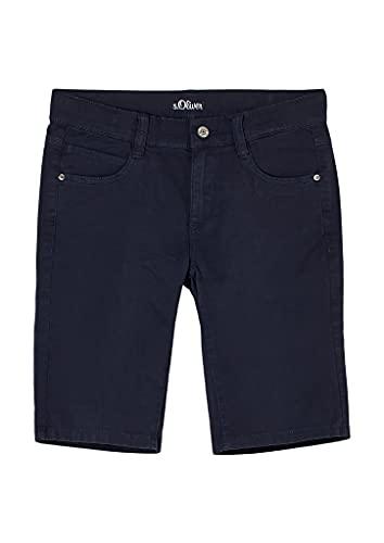 s.Oliver Junior Jungen 402.10.105.18.180.2062542.Slim Shorts, Blue, 170