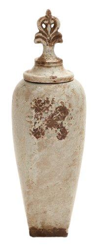 Deco 79Keramik Jar, 20 by 6-Inch