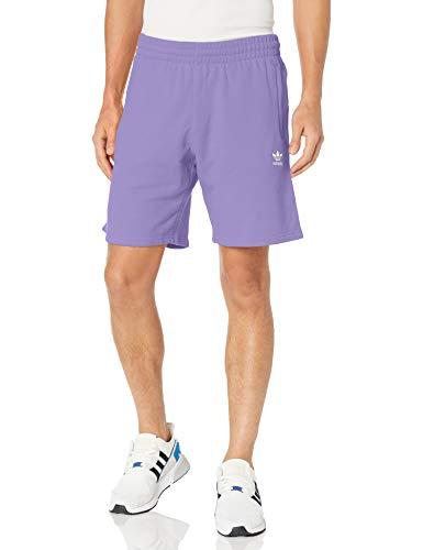 adidas Originals Pantalones cortos Trefoil Essentials para hombre - morado - X-Large