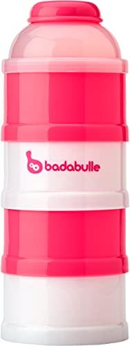 Badabulle B004202 Baby dose Girl, dosatore e contenitore per latte in polvere, Corallo