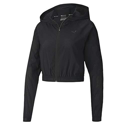 PUMA Damen Be Bold Woven Jacket Trainingsjacke, Black, M