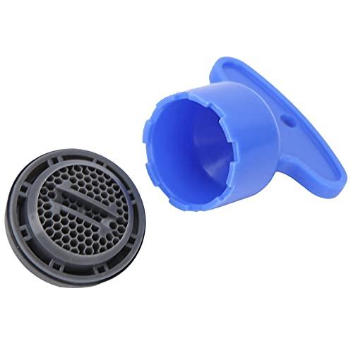 SONK Burbujeador de Grifo, Filtro de Pico Filtro de Grifo de Ahorro de Agua Duradero Aireador de Fregadero de Cocina para hogares para instalaciones públicas para hoteles(M24 Outer Screw)