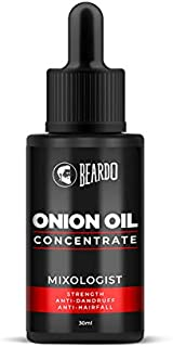 Beardo Onion Oil (30 ml) for Hair Growth and Hair Fall Control (30ml)