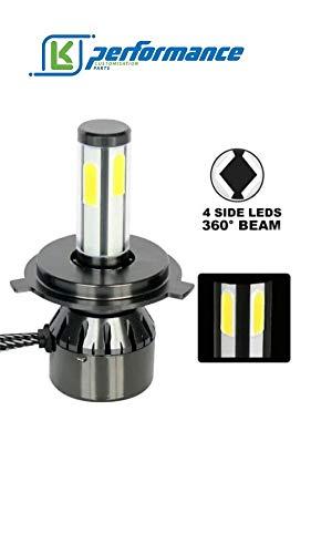 Kit de conversion de phares LED H7 20 000 lumens 100 W avec couleurs interchangeables