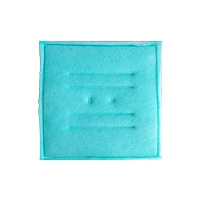 "Hiton Paint Spray Booth Tacky Intake Filter Pad 20"" x 20"" (20 Pack), Series 55 (Internal Wire)"