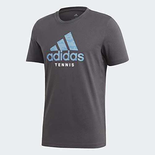 adidas Herren Category Logo T-Shirt, Gresix, XL
