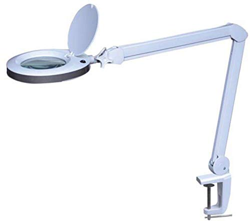 Velleman 232233LED Lámpara con lupa, 8dioptrías, 8W