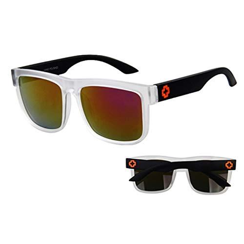 Gafas De Sol De Mujer, Gafas De Sol Para Hombre Gafas De Sol Deportivas Para Hombre Puntos De Revestimiento De Espejo De Conducción Gafas De Montura Negra Gafas De Sol Masculinas Gafas De Sol Uv400 P