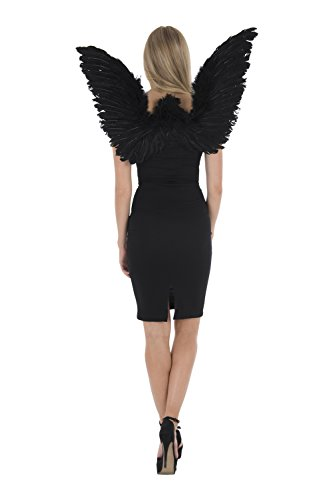 Zac's Alter Ego® Fancy Dress Adult Large Angel Feather Wings