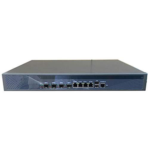 Pfsense Firewall Applicance Router PC, VPN, 1U Rack Network Server Appliance,Z87,Intel Pentium G3250,(Gray),[SNWELL E20],[4 Gigabit LAN/4 Gigabit SFP/2USB/1COM/1VGA/1Bypass]