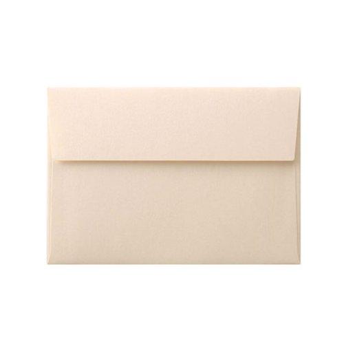 洋2カマス封筒 コットンパール ナチュラル (100枚)