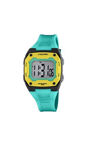 Calypso Reloj Digital para Unisex Adulto de Cuarzo con Correa en Plstico K5813/6