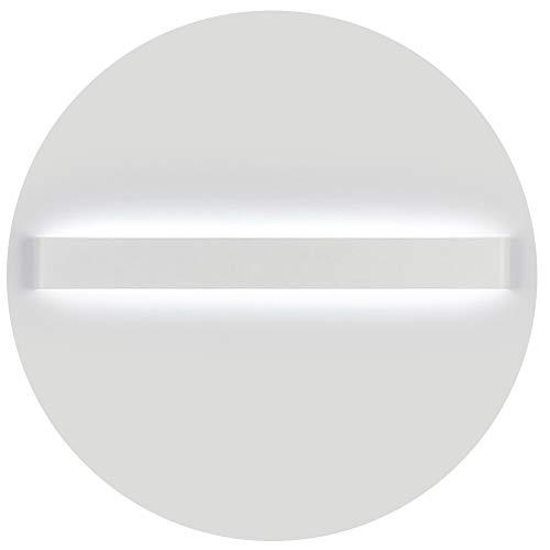 Ralbay Applique da Parete Interni LED Lampade da parete IP44 con Trasformatore Lampada Parete 30W Bianco freddo 3900 lumen Moderna Luce Specchio Bagno