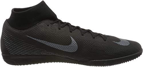 Nike Unisex-Erwachsene Mercurial SuperflyX VI Academy Indoor Fitnessschuhe, Schwarz (Black/Black 001), 42 EU