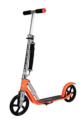 HUDORA Unisex Jugend BigWheel Scooter 14776, neon-orange, 205 mm