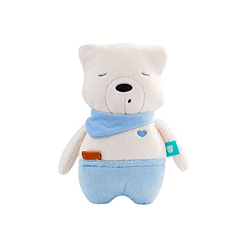 """myhummy Einschlafhilfe Baby mit Sensor """"Simon"""" weiß blau   White Noise Baby Einschlafhilfe Kinder zur Baby Beruhigung ab 0 Monate   my hummy Einschlafhilfe mit Sensor"""